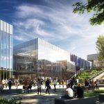 Proposed design of Northwest Campus renovation