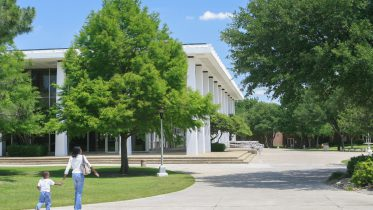 South Campus library building